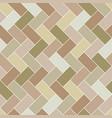 seamless pattern brick tile herringbone vector image vector image