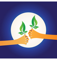 share green vector image