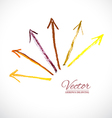 Arrows Pastel vector image