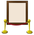 blank frame vector image