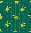 gentle flower seamless pattern with lilies vector image vector image