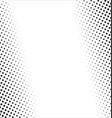 halftone design elements vector image vector image