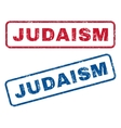 Judaism Rubber Stamps vector image vector image