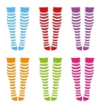knee-length socks vector image