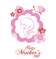 Motherss Day background vector image vector image