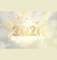 new year calendar label vector image vector image