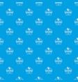 newborn pattern seamless blue vector image vector image