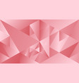 polygonal color abstract dynamic gradient vector image vector image