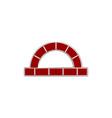 red brick furnace logo design inspiration vector image