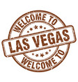 welcome to las vegas vector image