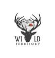 wild territory vector image vector image