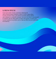 abstract blurred gradient mesh background in vector image vector image