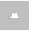 hat computer symbol vector image