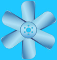 Impeller vector image vector image