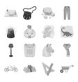 police packing rodeo and other web icon in vector image vector image
