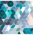 retro pattern geometric shapes colorful mosaic vector image vector image