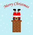 Santa Claus icon vector image vector image