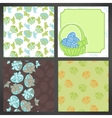 set easter backgrounds lots detail vector image