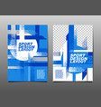 sport design layout template design sport vector image vector image