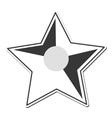 star shape decoration design vector image vector image