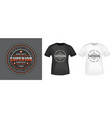 superior stamp and t shirt mockup vector image vector image