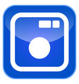 camera app icon vector image