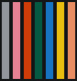 colorful seamless striped pattern vector image