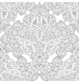 Ethnic line seamless pattern vector image