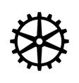 gear cogwheel mechanical vector image