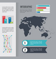 infographic ancient continent vector image vector image