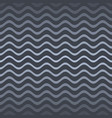 modern gradient wavy line website pattern vector image
