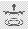 Start Drone Grainy Texture Icon vector image vector image