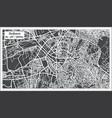 ankara turkey map in retro style vector image vector image