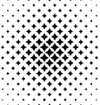 Black and white abstract polygon pattern vector image vector image