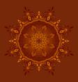 mandala b2 vector image vector image