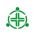 medical icon logo concept vector image