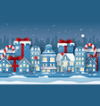 origami paper art background town with vector image vector image