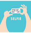 Selfie vector image