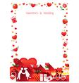 Love Border Frame vector image