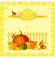 beautiful autumn still life vector image vector image