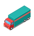 Delivery Van Truck Specialized to Deliver Cargo vector image vector image