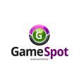 Game Spot Logo vector image