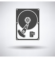 HDD icon vector image vector image
