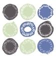 Set of 9 decorative wedding or romantic elements vector image vector image