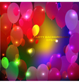 abstract party background vector image