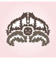 decorative turtle vector image