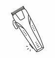 electric shaver icon vector image