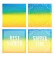 gradient backgrounds with mandala and summer cards vector image vector image