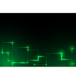 Green Futuristic Abstract Background vector image vector image