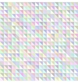 Holographic triangle geometric pattern vector image vector image